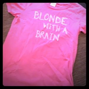 Pink fitted shirt